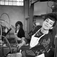 Décolletage des betteraves, sucrerie de Genappe, 1991