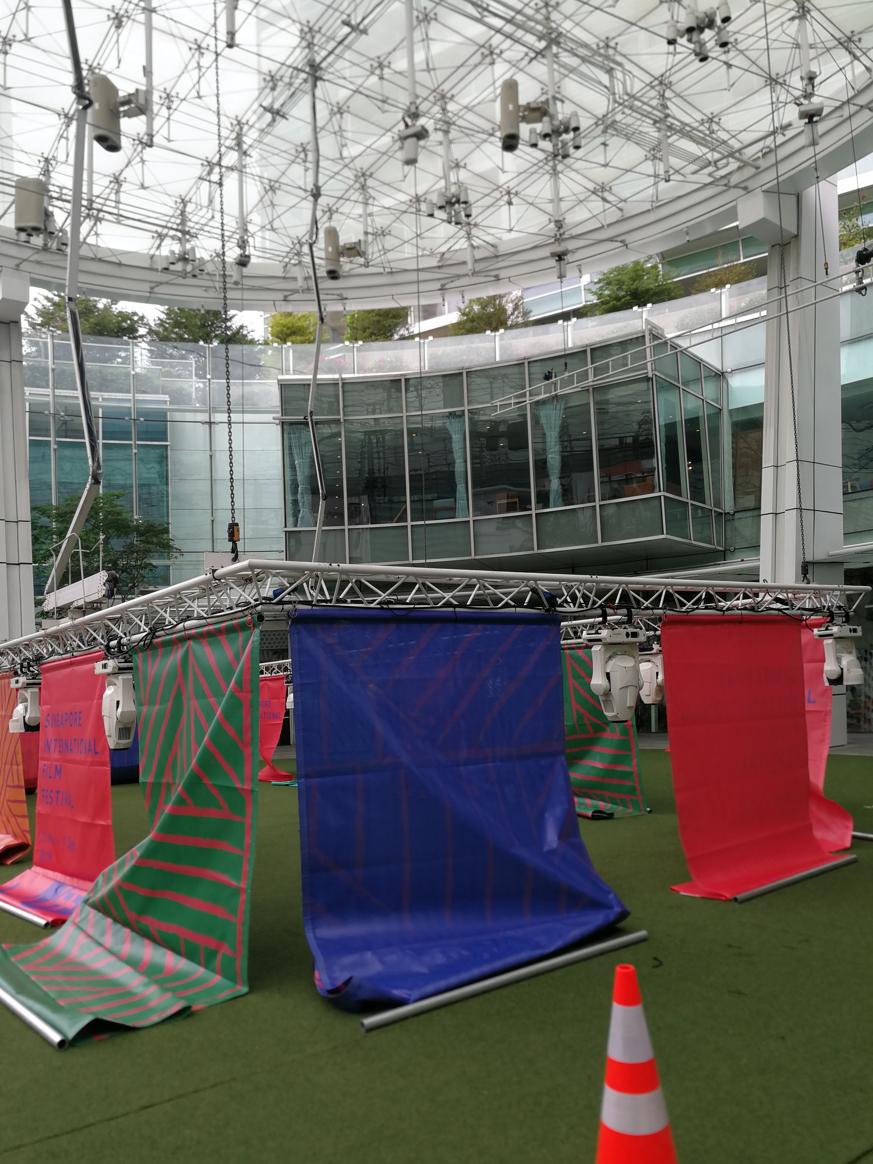 SGIFF Mesh PVC banner