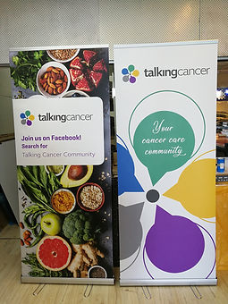 Single pull up banner