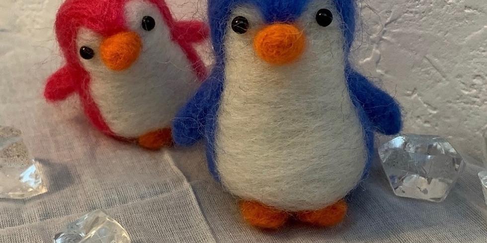 『羊毛フェルトで    ペンギンを作ろう🐧』