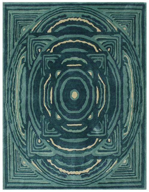 Peacock Mandala - Silk