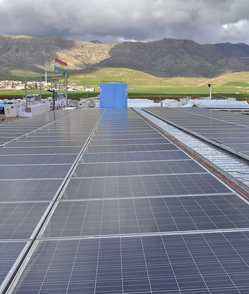 Hybrid Solar for United Nations Iraq