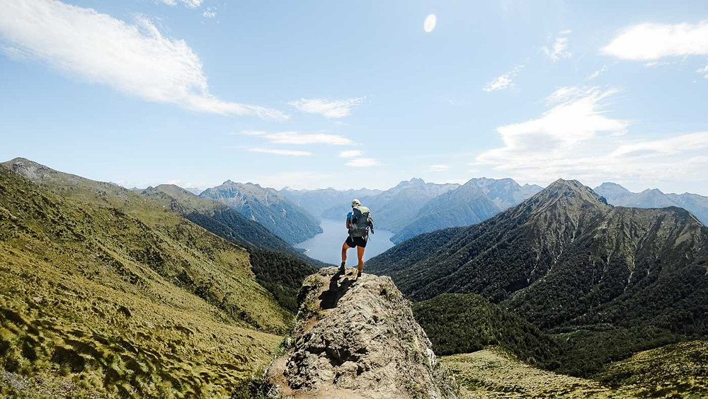 Hiking the Kepler Track in New Zealand