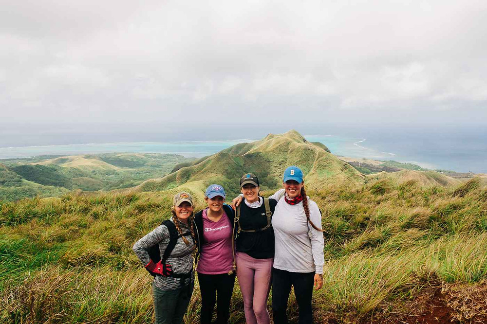 Military Wild hiking the Southern Mountains of Guam