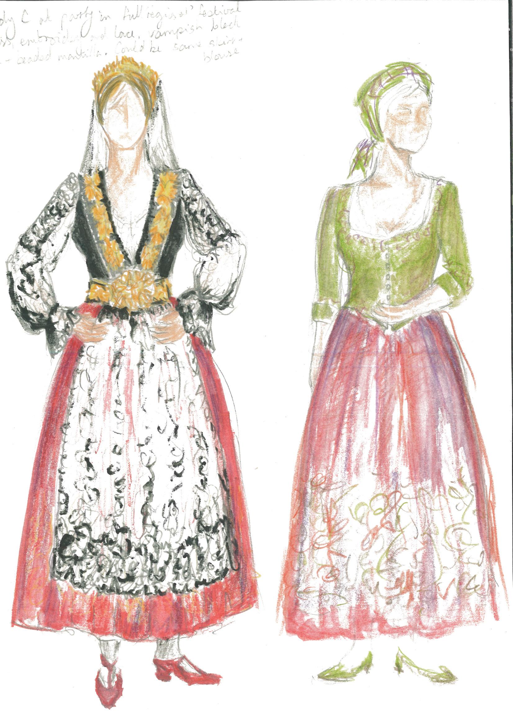 Lady Capulet sketch