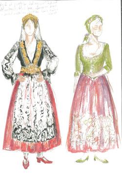 Design for Lady Capulet