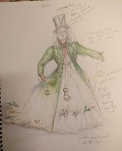 Design for A Christmas Carol 2020