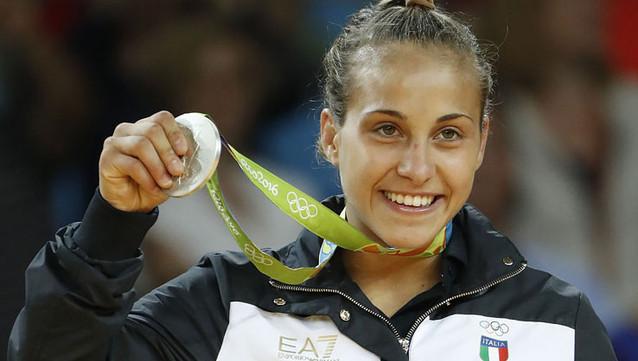 Odette Giuffrida: judoka. Da Talenti a Tokyo con ardore