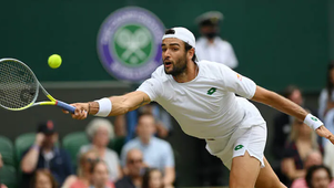 Matteo Berrettini in finale a Wimbledon!