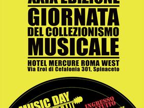 Riapre il tempio del vinile, torna a Maggio il Music Day Roma