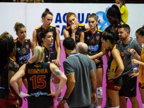 Volley: finale di regular season amaro per l'Acqua & Sapone a Pinerolo