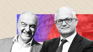 Confronti Michetti-Gualtieri. Vince ai punti il candidato di centro destra