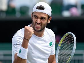 Nuova impresa di Matteo Berrettini: battuto Auger-Aliassime a Wimbledon, si vola in semifinale!