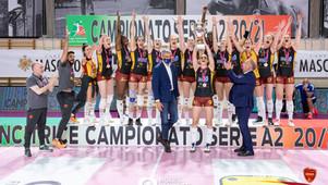 Traguardo storico della Roma Volley femminile, il sogno della A1 è realtà!