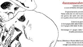 Danzamacabra - Leandro Lottici  in esposizione da martedì 1° giugno