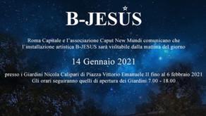 ARTE - Da oggi è visitabile B-Jesus, il presepe-installazione ideato da Mariotto