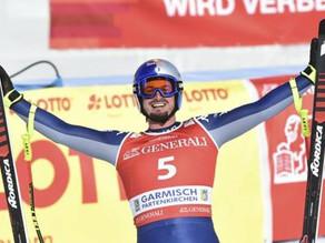 SCI - Dominik Paris trionfa nella discesa libera di Garmish