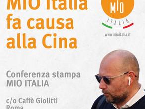 Covid, MIO Italia cita per danni il ministero della Sanità cinese