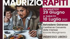 La Pop Art fuori dal tempo di Maurizio Rapiti in esposizione a Belvedere Ostrense