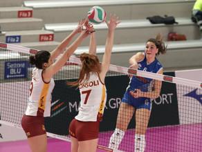 Volley A2 - Roma non si piega: è vittoria piena con il Club Italia