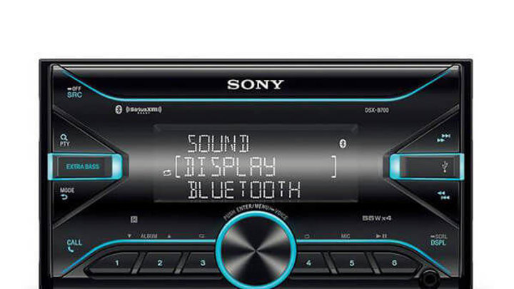 Sony DSX-B700 Digital Media Receiver with USB/iPhone/iPod player and Bluetooth