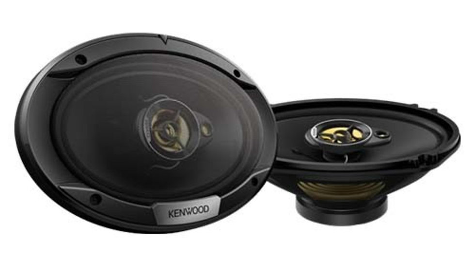 Kenwood Kfc-S6976ex Sound Stage Series 6X9 3Way Coax