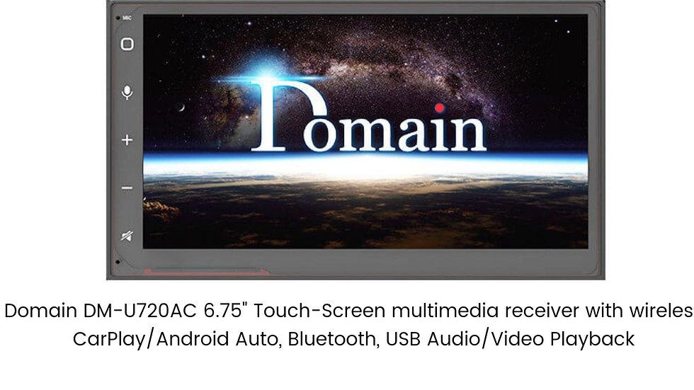 Domain with wireless CarPlay/Andriod auto