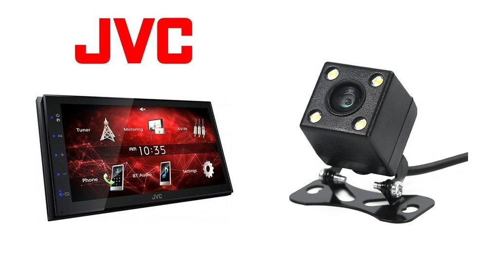 JVC + Reverse camera installed