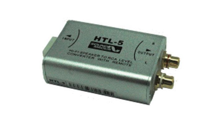 High Performance Hi-Fi Speaker to RCA Level Converter