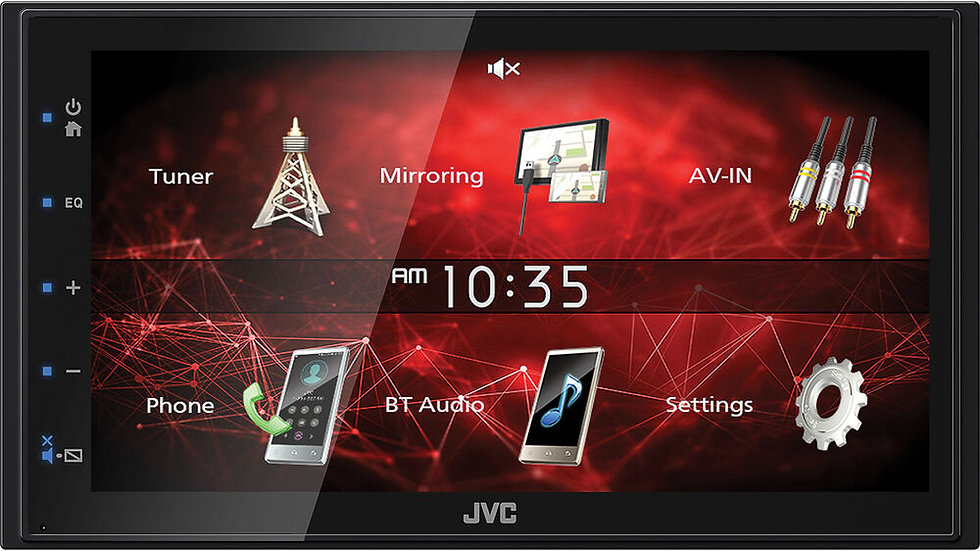 JVC + Reverse camera with Installation