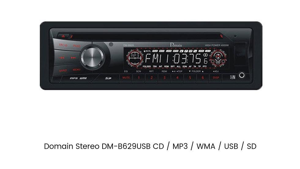 Domain Stereo DM-B629USB CD / MP3 / WMA / USB / SD