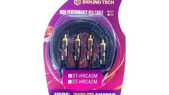 High Performance RCA Cable 5m