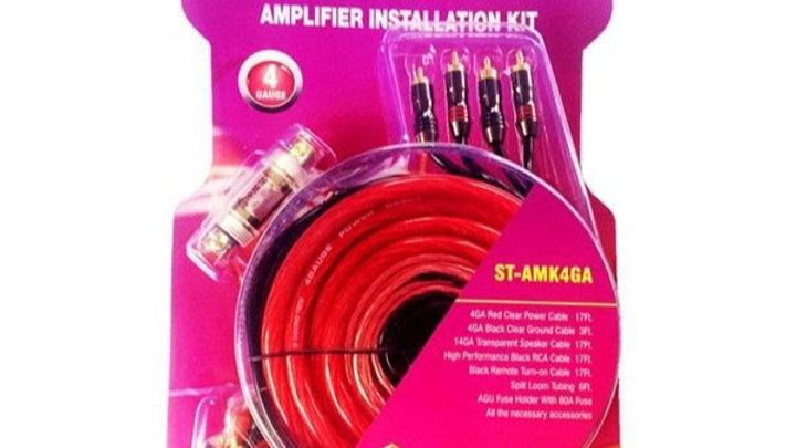 ST-AMK4GA 4 GAUGE AMP WIRING KIT