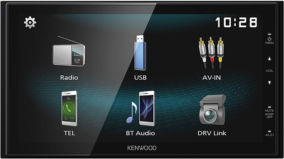Kenwood stereo+ Reverse camera with Installation