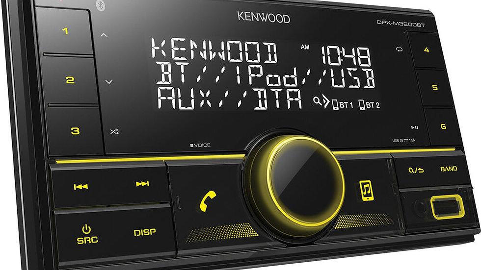Kenwood DPX-M3200BT Double DIN Head Unit