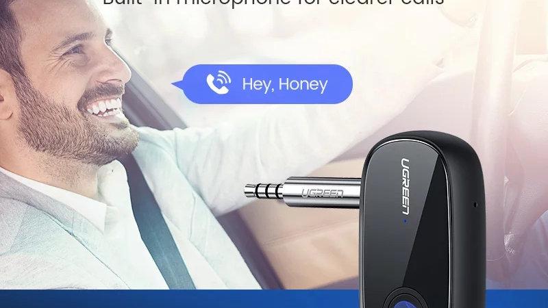 Bluetooth Receiver 5.0 aptX LL 3.5mm AUX Jack Audio Wireless Adapter