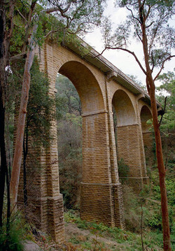 Knapsack Viaduct - Lapstone1867-1992