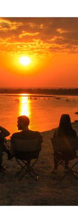 Rocky Simachila Photography- Sundowners at Wamilombe- South Luangwa NP- Zambia- 2009.jpg