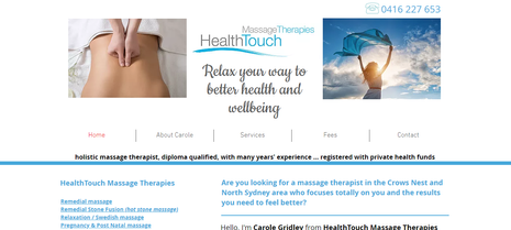 HealthTouch Massage Therapies