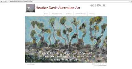 Heather Davis Australian Art