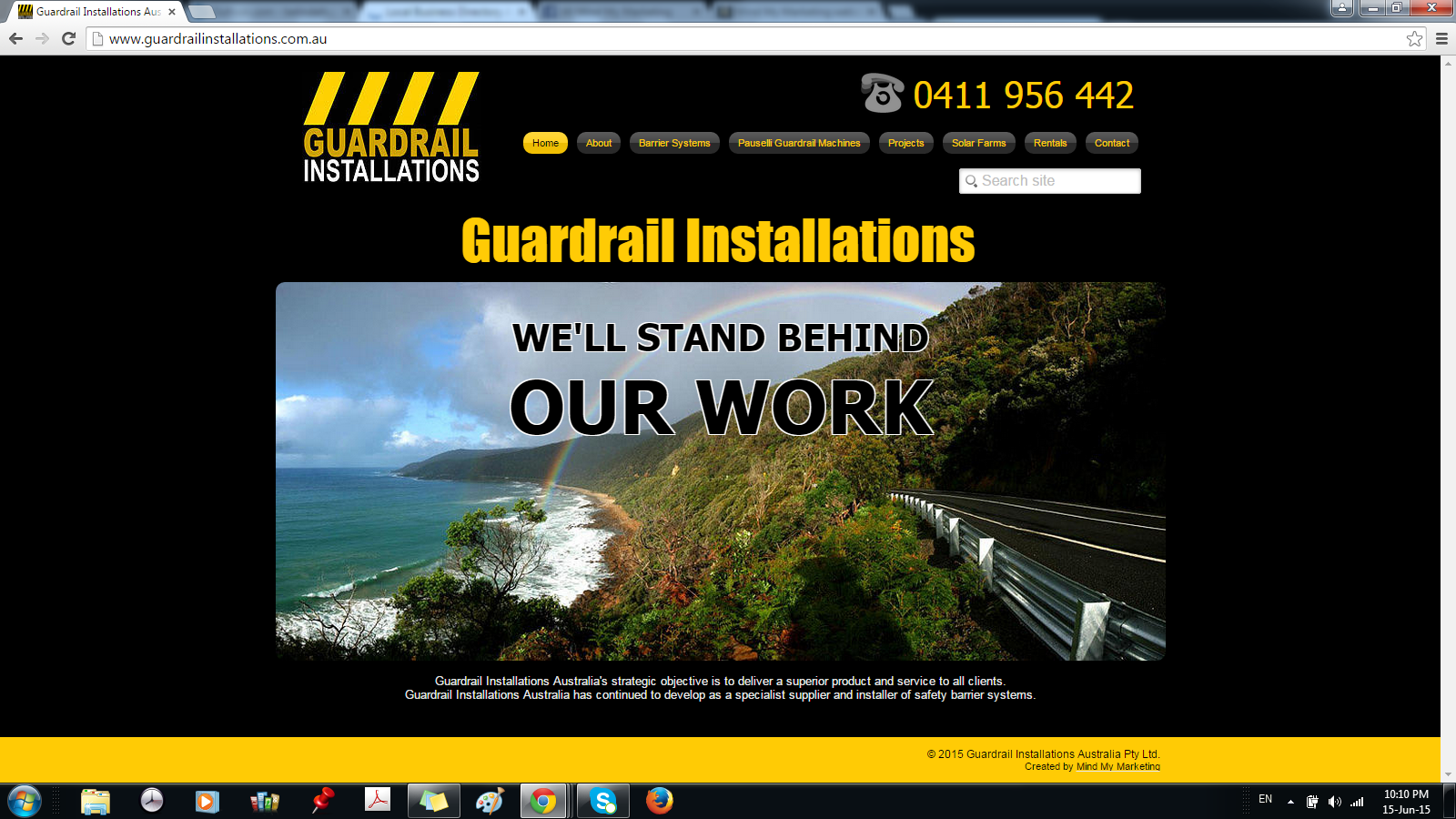 Guardrail Installations Australia