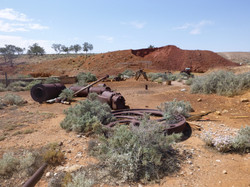 Copper Mine - Beltana, Flinders Rng