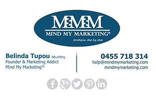 Belinda Tupou Mind My Marketing