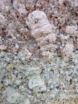 Granite - large Feldspars, Flinders