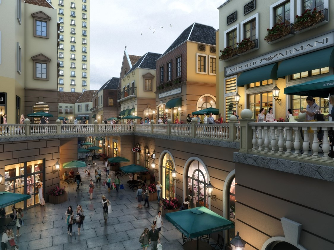 charles_tang_design_european_themed_retail_street_taizhou_china