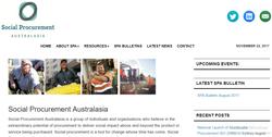 Social Procurement Australasia