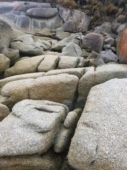 Granite - Feldspars, Flinders Is