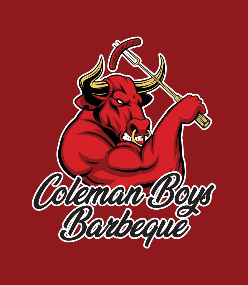 Coleman Boys BBQ Logo