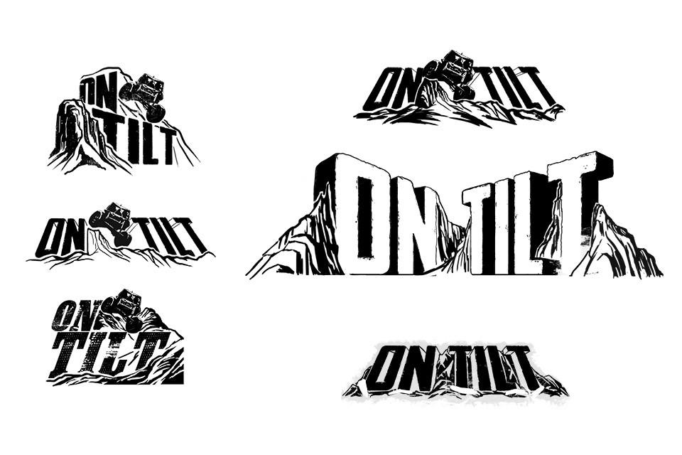 On Tilt Title logo