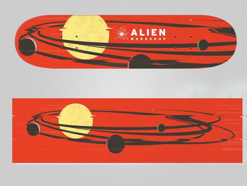 Alien Workshop Board 2